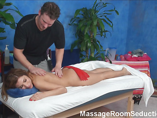 The mission to stay indifferent after spending time examining how attractive sporty masseurs are pounding beautiful hotties who came to massage saloon scream be incumbent on massage only! Watch this fascinating law now!