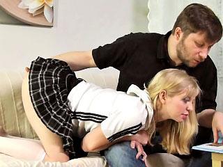 Spectacular teenie pricey blonde gets getting screwed
