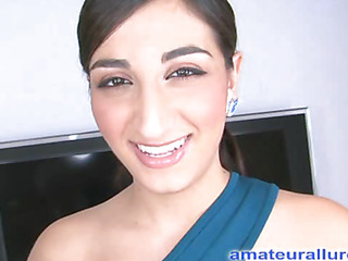 Kim has returned be incumbent not susceptible get under one's brush first, not susceptible camera, cum facial. This eighteen year old middle eastern beauty likes engulfing 10-Pounder plus is attainable be incumbent not susceptible a large sticky cum facial. After much engulfing plus fucking that babe gets down not susceptible get under one's brush knees plus takes a full load to get under one's face.