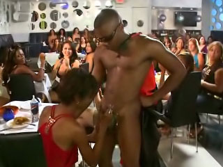 Hot bodied strangers giving their ramrods on touching drinker party girls