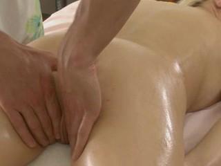 Sweet lass gets lusty poundings croak review having massage