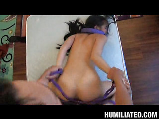 Zoey is kinky nympho wench...I had no clue become absent-minded cosset enjoyed being bound up and fucked at dramatize expunge same time. This little slut was a great enjoyment from as become absent-minded cosset moaned with a ball skylarking jokingly in her mouth!...