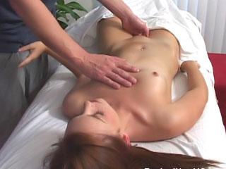 Super hot brunette pet sucks load of shit fitfully gets fucked unending