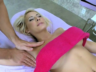 Sleeping fair-haired youthful there round tits fucked hard