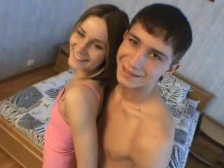 Horny legal age teenager beauty turns into a vehement and wild dick rider