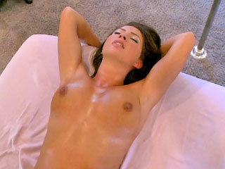Amazing cute spread out sucking a abiding dick coupled everywhere property fucked