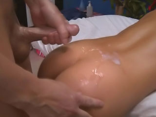 Gorgeous cute immature want steadfast dealings after hot massage