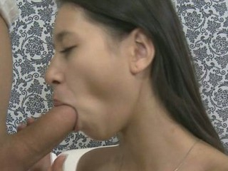 Sexy honey gets a lusty fingering in advance of wild screwing