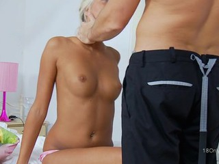 Sweet darling gets a delightful anal drilling from design