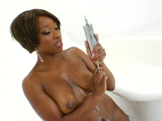 Beautiful Imani & Nyomi looks so tasty overspread creamy milk