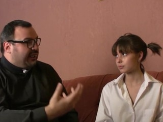Father Torbe is back and this day this chab's taking care be worthwhile for Julia Sweet. This cute Russian gal came to our lovable priest 'coz this babe has sinned. What's more great to rationalization their way then shooting a load be worthwhile for cum down their way mouth'!