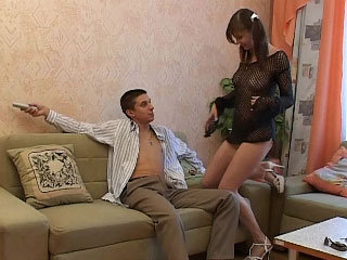 Beautiful mart babe takes an irritant ride on his hard cock