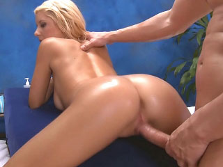 Blonde gets say no to ass violated by his tongue added to fucked by his rod