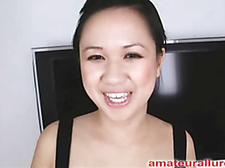 Carmina is a gorgeous twenty year old Oriental student, with a cute little body and an precedent-setting longing for pecker. Crimson appears that Carmina has sucked off about fifty guys! That's a large number for somebody still all over college. Become absent-minded Babe is adding blessed with