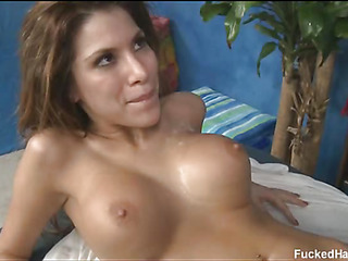Hot 18 savoir vivre old gets fucked hard by her palpate therapist