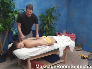 Forget about anything else and drown in the blue planet of excitement and beauty here! U will watch how sexy and horny amateur girlie is getting massaged well by dude in promote of being pounded ergo well by him.
