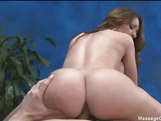 Lovely babe loves kneading and obese cock  in her pussy
